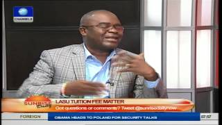 LASU Students Have No Objection To Tuition Introduction- Opeifa Prt1