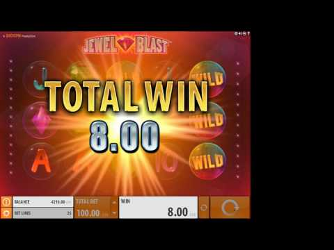 Jewel Blast Slot Features and Game Play - by QuickSpin