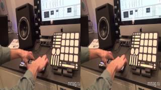mmag ru: Musikmesse 2014 - Keith McMillen MIDI контроллеры - 3d видео