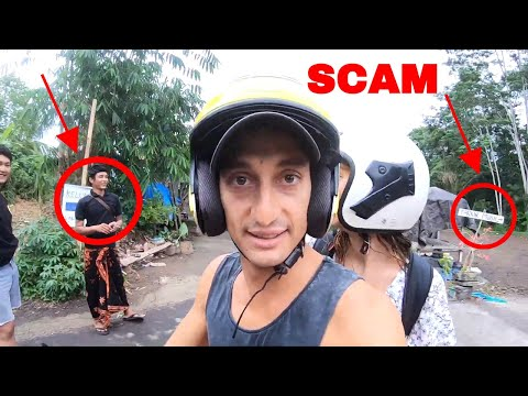HOW THE BALI PARKING SCAM WORKS