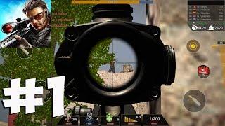 Bullet Strike: Sniper Battlegrounds - Gameplay Walkthrough Part 1  (iOS, Android) screenshot 4