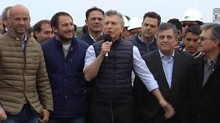 El presidente Mauricio Macri inauguró tramo de la Ruta 19 en Córdoba