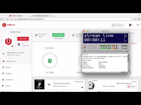 BUTT (Broadcast Using This Tool) - Radio Streaming Tutorial for Mac OSX
