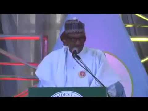 Full Speech Delivered by President Buhari at Kano English & Hausa Version Jawaban Shuga Buhari a kan