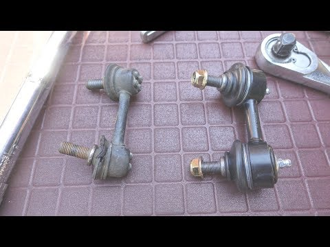 How to Replace Front Stabilizer Sway Bar Links for Acura & Honda Accord