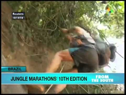Brazil holds 10th Edition Jungle Marathon