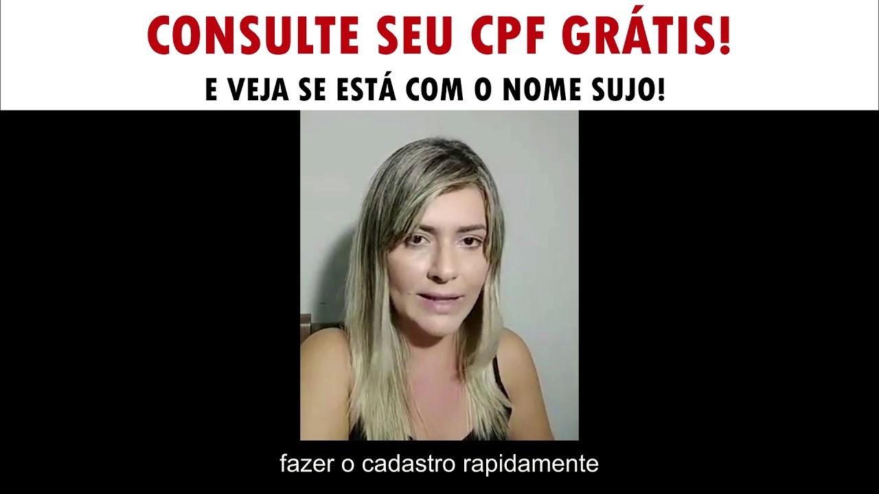 CONSULTA GRATUITA DO CPF E SCORE DE CRÉDITO