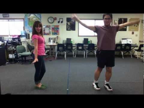 Prince Ali Choreography, Aladdin, Jr. (CHORUS, Narrators, Harem Girls) @ Jefferson Elementary School