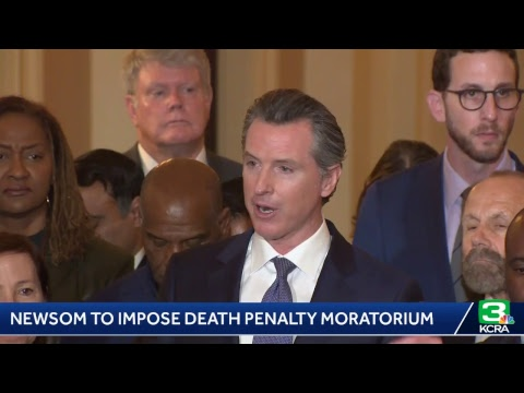Gov. Gavin Newsom imposes death penalty moratorium