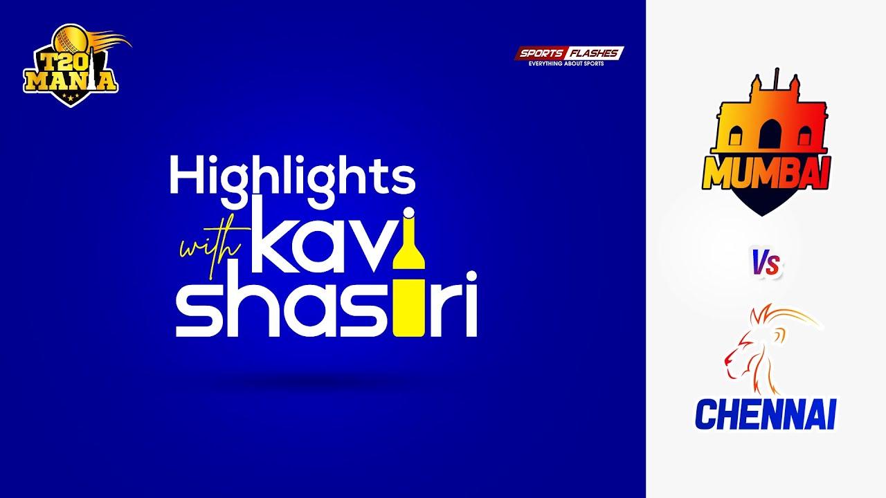Highlights with Kavi Shastri | Chennai vs Mumbai | IPL 2020 opener match | chennai beats mumbai