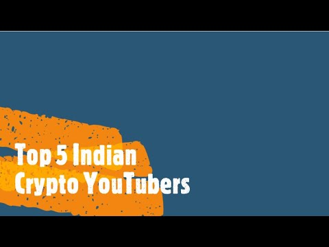 List of great crypto investment youtubers