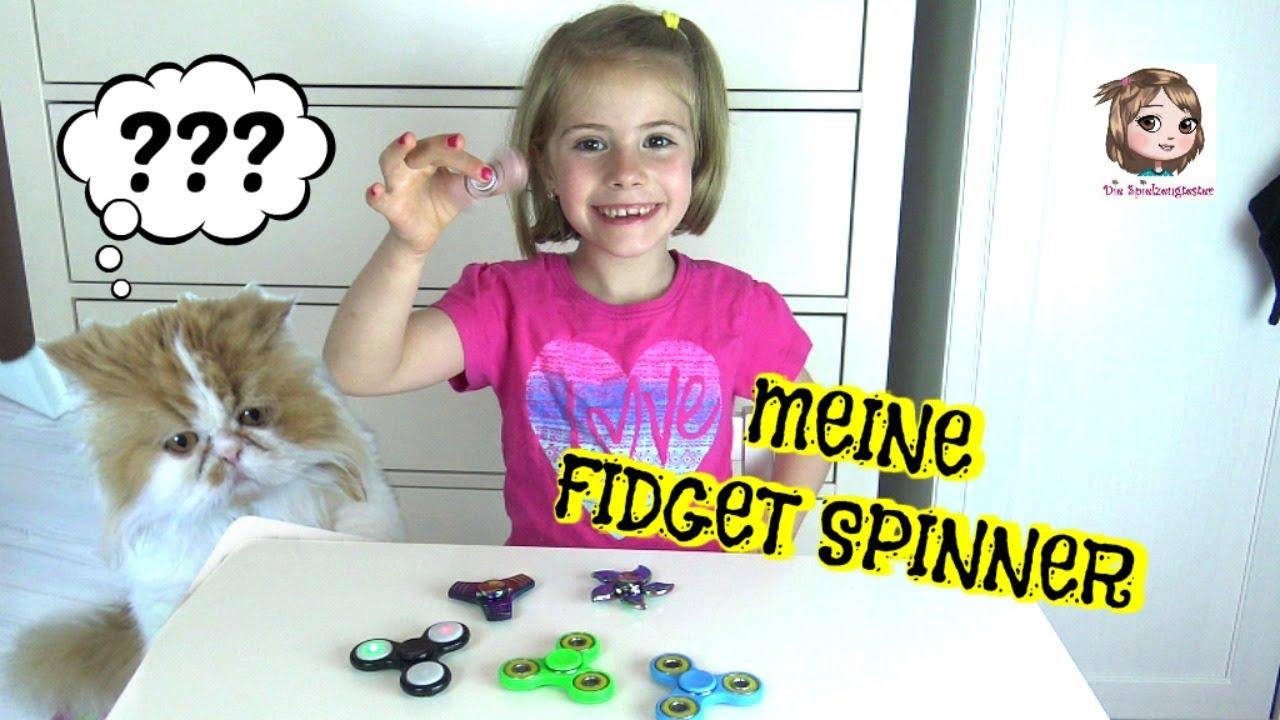 Fidget Spinner Sammlung