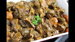 The Ultimate Slowcooker Oxtail Recipe #TastyTuesdays| CaribbeanPot.com