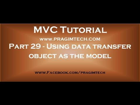how to add a model in mvc