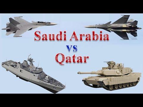 Saudi Arabia vs Qatar Military Comparison 2017