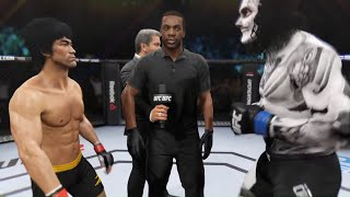 Bruce Lee vs. Skull Calavera - EA Sports UFC 2 🔥🐲