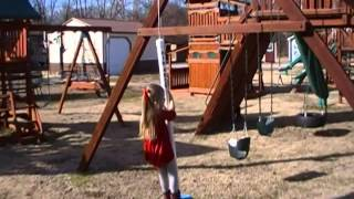 Air Pogo Ultimate Swing - The Swing With A Spring!