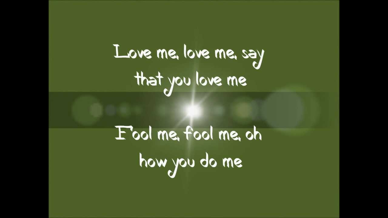 Justin Bieber - Love Me With Lyrics