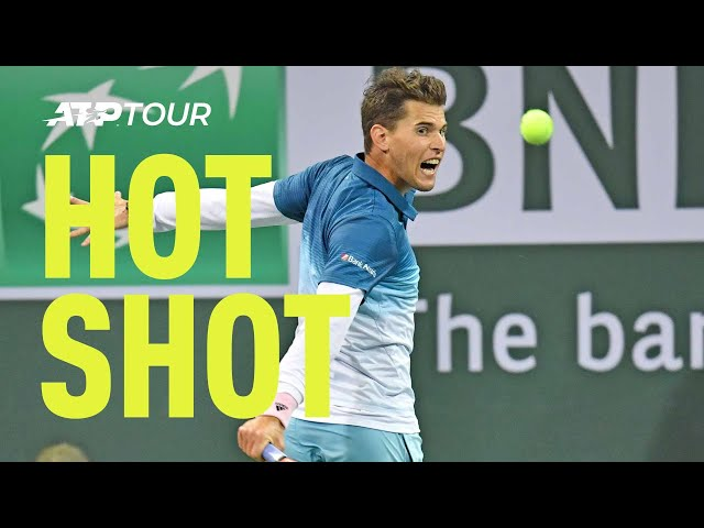 Hot Shot: Thiem Pulls Off The Ultimate Surprise In Indian Wells 2019