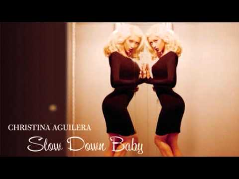 Christina Aguilera Slow Down Baby Acapella Youtube
