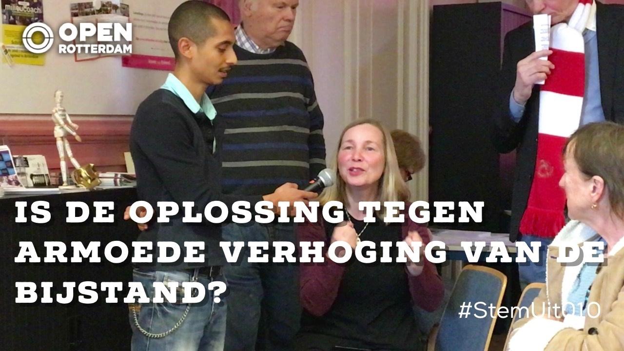 Stem uit de wijk armoedebestrijding in rotterdam noord for Wijk in rotterdam