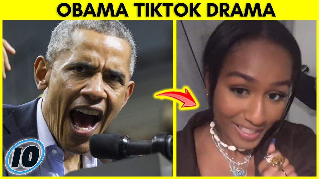 Barack Obama's Daughter Has TikTok Video Deleted After This