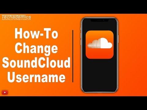 How To Change Your Username on SoundCloud 2019 - YouTube