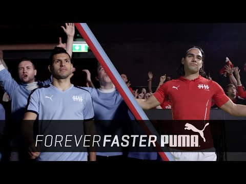 Sergio Agüero vs. Radamel Falcao | Head to Head | PUMA Football