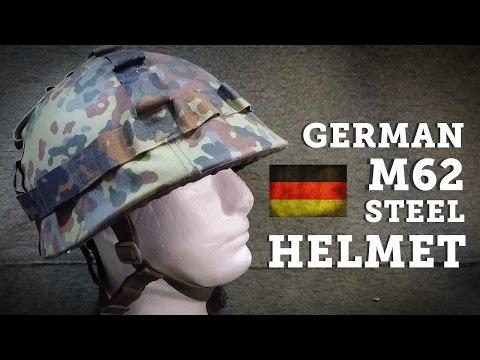 Helmets of the World: West German M62 Steel Helmet