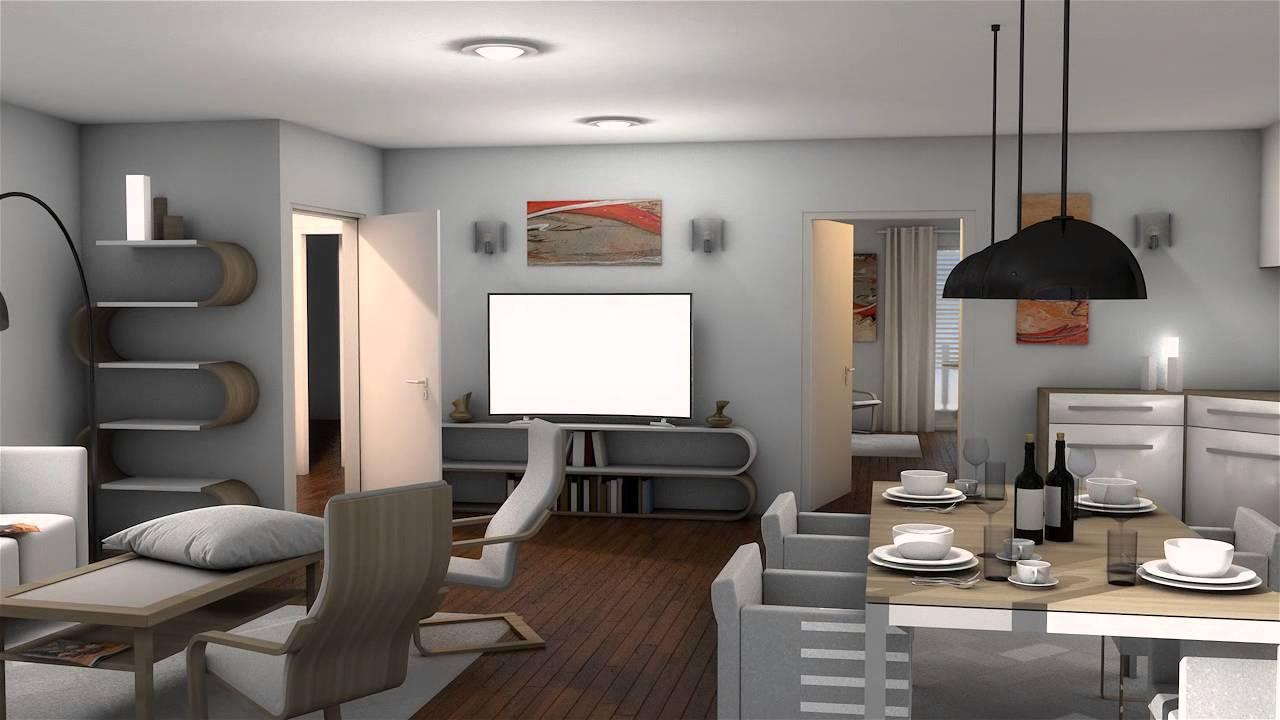 cinema 4d interior render youtube. Black Bedroom Furniture Sets. Home Design Ideas