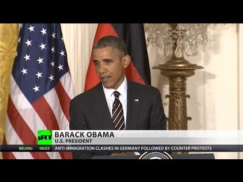 Merkel, Obama split on Ukraine crisis solution