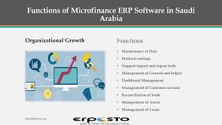 Erpisto Micro Finance ERP Software in Saudi Arabia