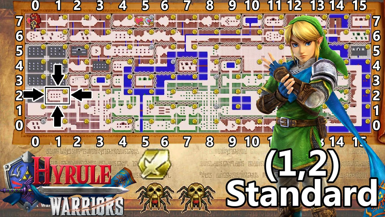 Row 8 - Hyrule Warriors Wiki Guide - IGN