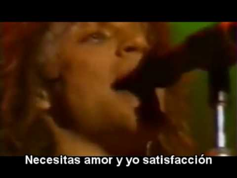 Burning For Love Bon Jovi Subtitulado Subtítulos Español