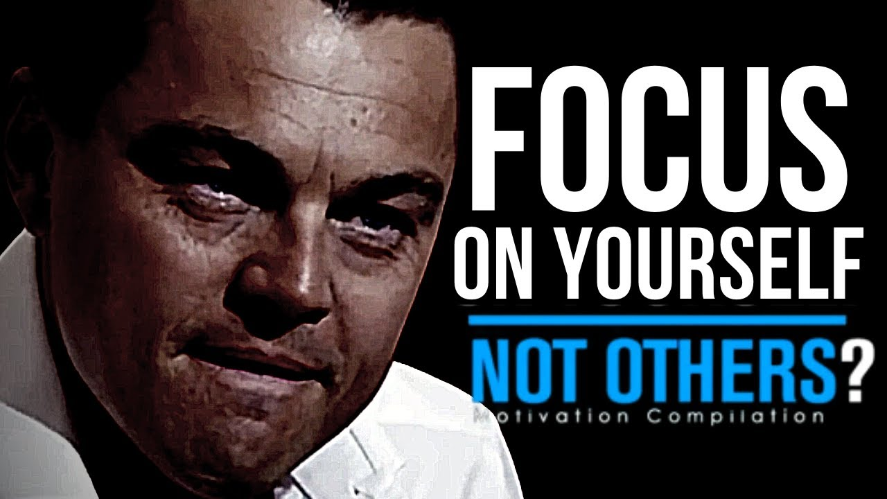 Focus on Yourself Not Others?