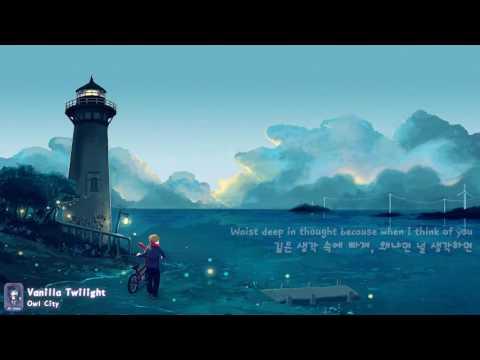 [한글자막/나이트코어] Owl City - Vanilla Twilight