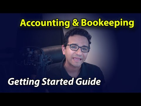 Getting Started with Accounting & Bookkeeping
