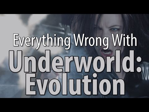 Everything Wrong With Underworld: Evolution poster