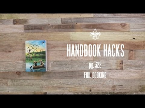 Foil Cooking – Boy Scouts of America Handbook Hacks