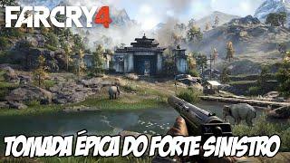 Far Cry 4 Piratas Aventureiros - Tomada ÉPICA do Forte sinistro com Bruno Gameplay