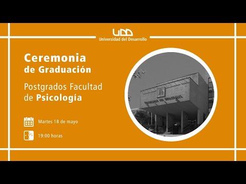 Ceremonia de Graduación Postgrados Facultad de Psicología - Sede Concepción