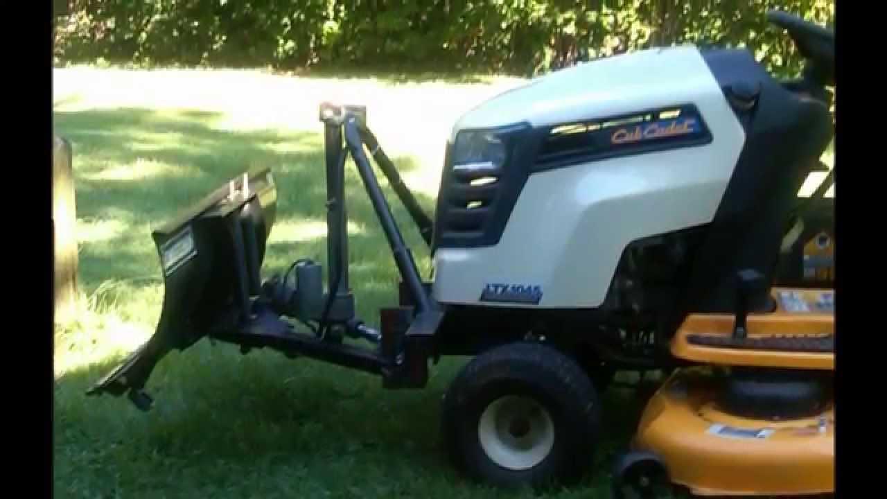 Cub Cadet Ltx Plow Project