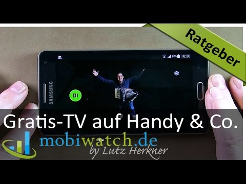 ratgeber video gratis fernsehen auf handy tablet co deutsch youtube. Black Bedroom Furniture Sets. Home Design Ideas