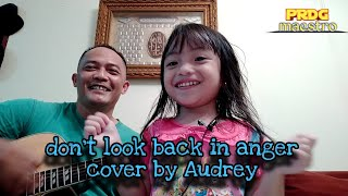 Don't look back in anger cover by Audrey