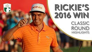 Rickie Fowler's 2016 Abu Dhabi Win   Classic Round Highlights