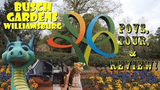 Busch Gardens Williamsburg Full Park Tour, Review, POVS, & More!