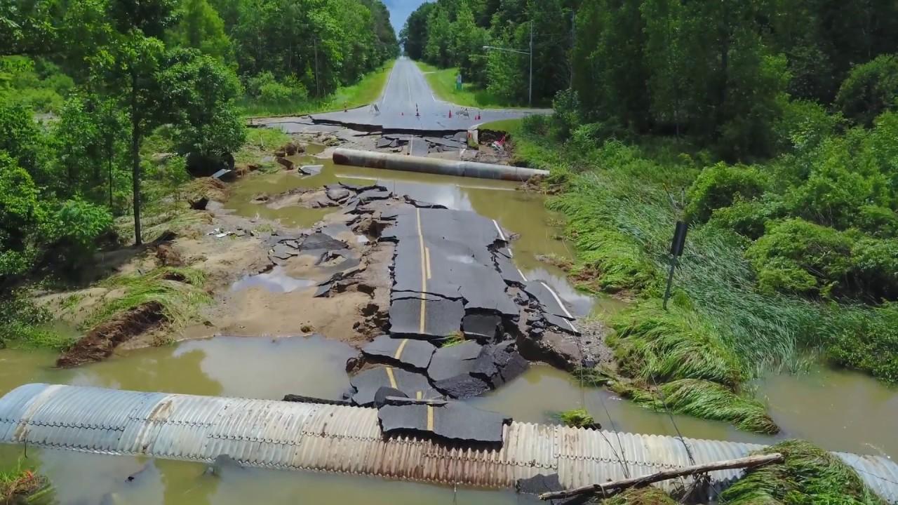 Mt Pleasant Flooding June 2017 Youtube