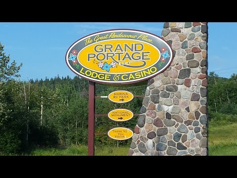 Casino Campground Review ~ Grand Portage Casino & RV Minnesota