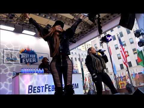 Salt-N-Pepa Live from Rockefeller Center NYC 2018/2/3 #BestFebEver