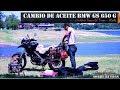 CAMBIO DE ACEITE BMW GS 650 G